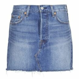 Levis  DECONSTRUCTED SKIRT  women's Skirt in Blue