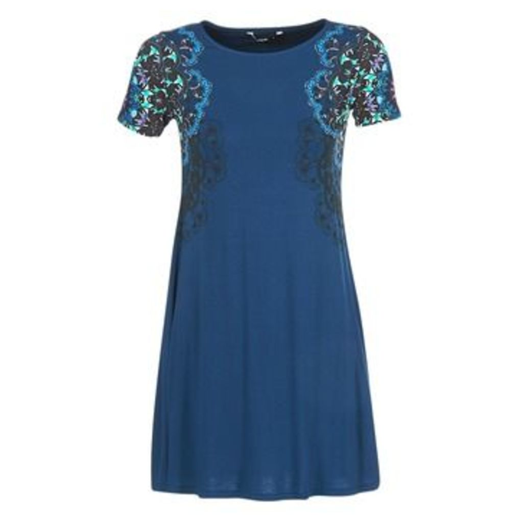 Desigual  CORA  women's Dress in Blue