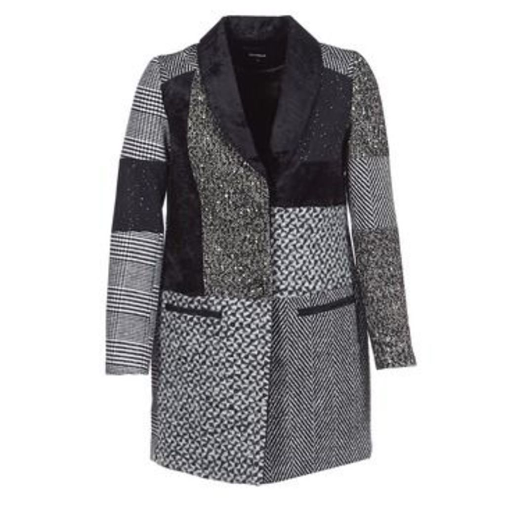 Desigual  MERLON  women's Coat in Grey