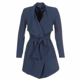 Only  ONLRUNA  women's Trench Coat in Blue