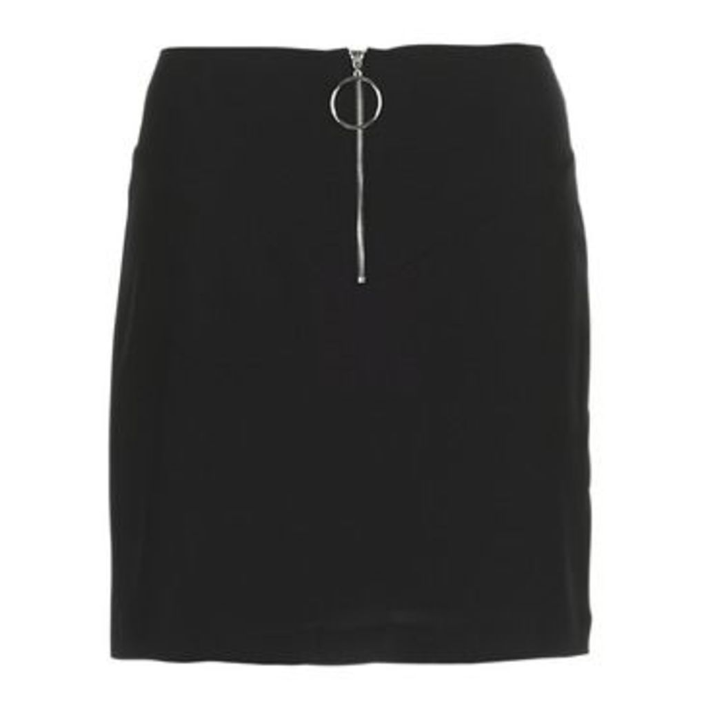 Morgan  JANET  women's Skirt in Black