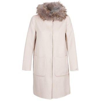 Oakwood  YALE BI  women's Coat in Beige