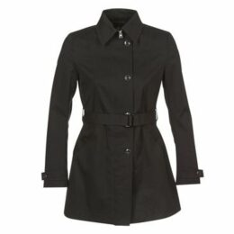 G-Star Raw  MINOR SLIM TRENCH  women's Trench Coat in Black