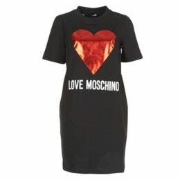 Love Moschino  GONNA  women's Dress in Black