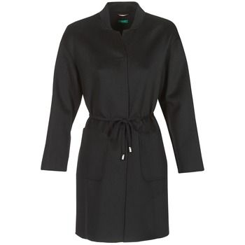 Benetton  MARBELLO  women's Coat in Black