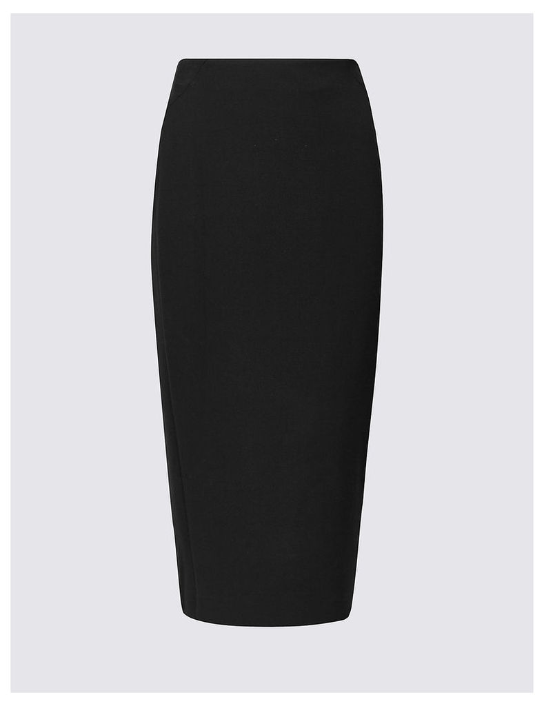 M&S Collection Seamed Pencil Midi Skirt
