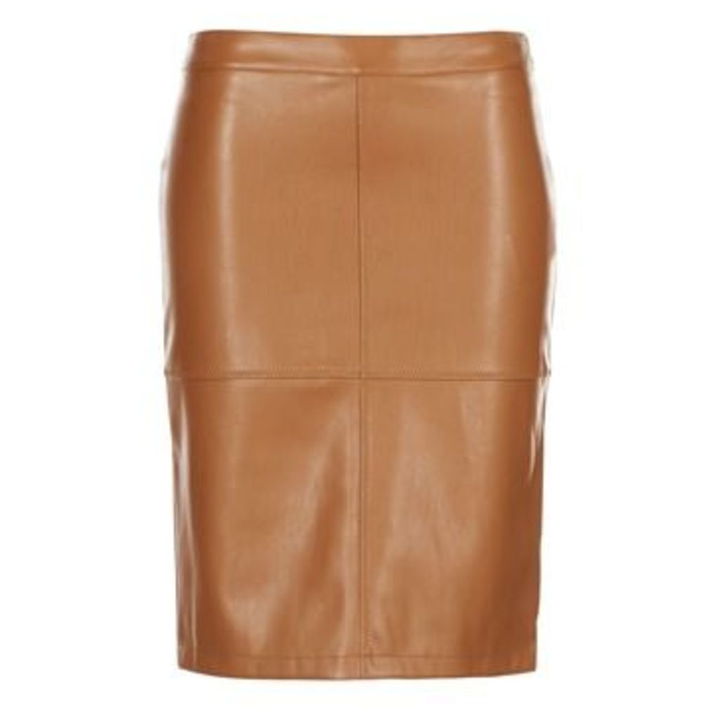 Vila  VIPEN  women's Skirt in Brown