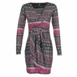 Smash  OKAINA  women's Dress in Multicolour