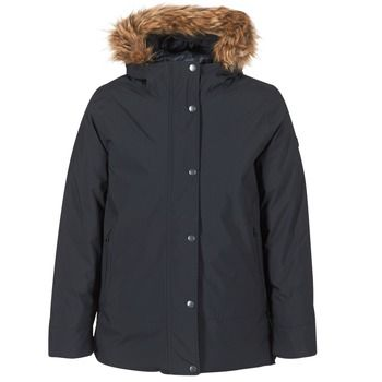 Aigle  EVERNIA  women's Parka in Black
