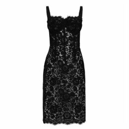 Dolce and Gabbana Lace Pencil Dress