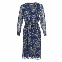 Derhy  PARASOL  women's Long Dress in Blue