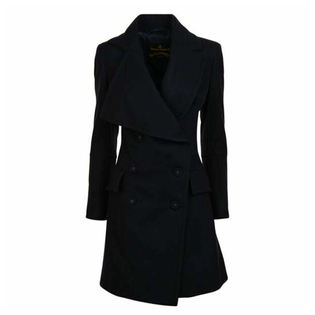 VIVIENNE WESTWOOD ANGLOMANIA Jabot Coat