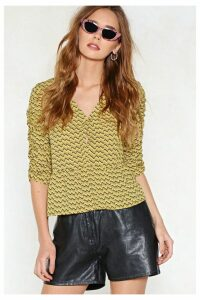 Put It in Print Blouse