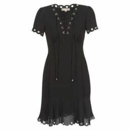 MICHAEL Michael Kors  GROMMET NECLINE DRS  women's Dress in Black