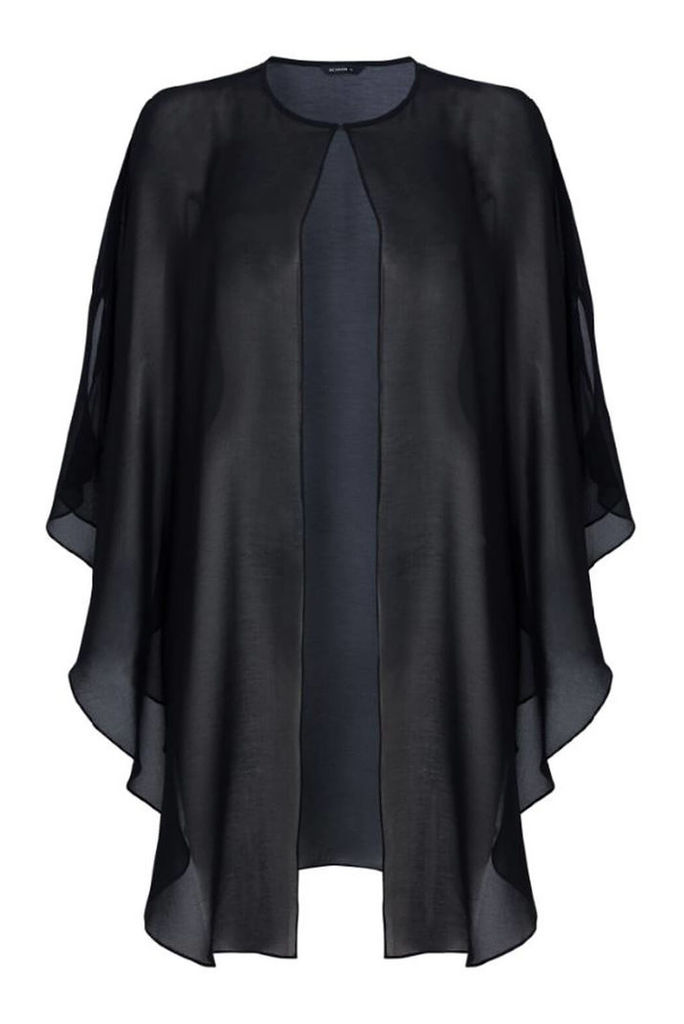 Chiffon Longline Jacket