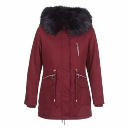 Betty London  JORDETTE  women's Parka in Red