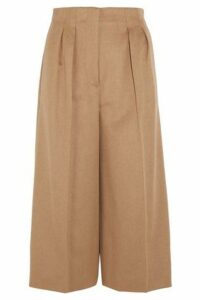 Max Mara Woman Pleated Camel Hair Culottes Camel Size 46