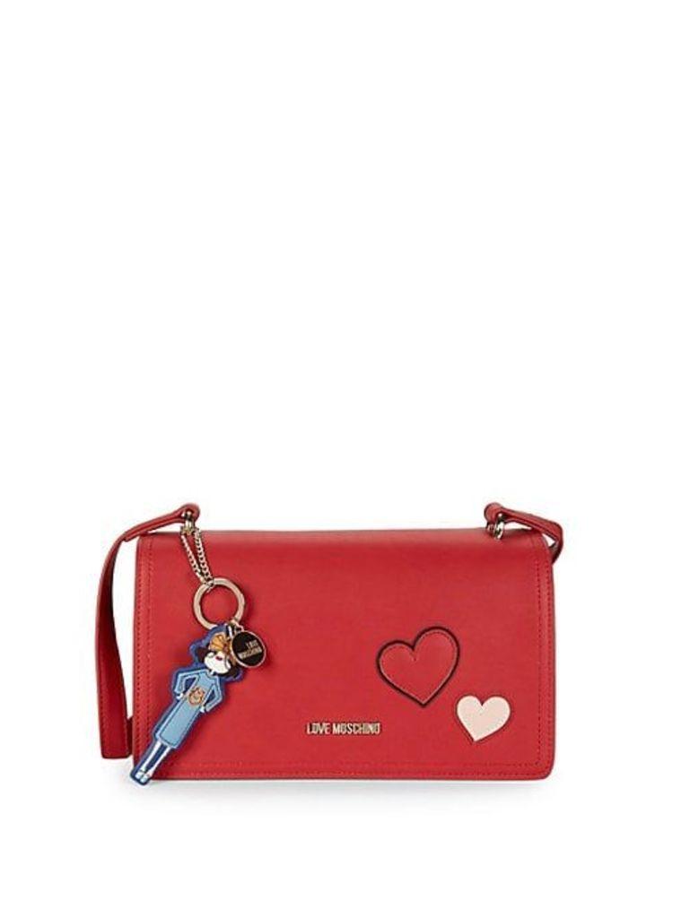 Heart Detail Crossbody Bag