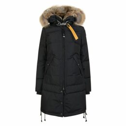 PARAJUMPERS Long Bear Fur Coat