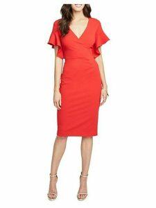 Capri Ruffle Sheath Dress