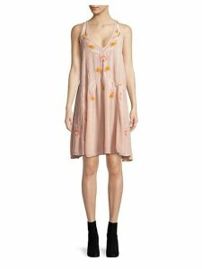 Adelaide Embroidered Shift Dress