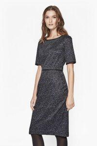 La La Fitted Lace Dress