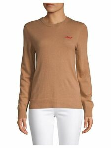 Ciao Embroidered Sweater