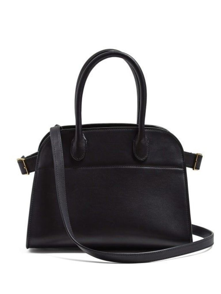 The Row - Margaux 10 Leather Bag - Womens - Black