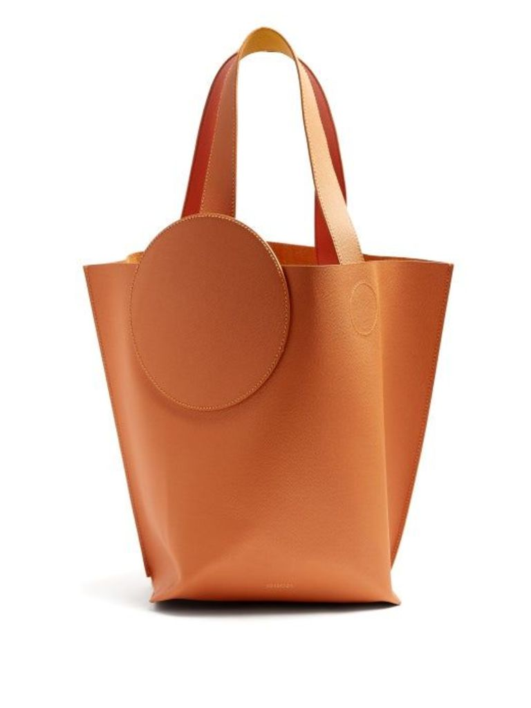 Roksanda - Eider Pebbled Leather Tote - Womens - Tan