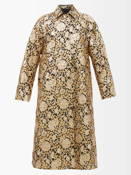 Marques'almeida - Poster Print Leather Belt Bag - Womens - Multi