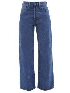 Gucci - Gg Marmont Quilted Velvet Cross Body Bag - Womens - Red