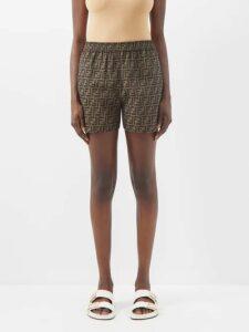 Vetements - Passport Print Leather Cross Body Bag - Womens - Navy