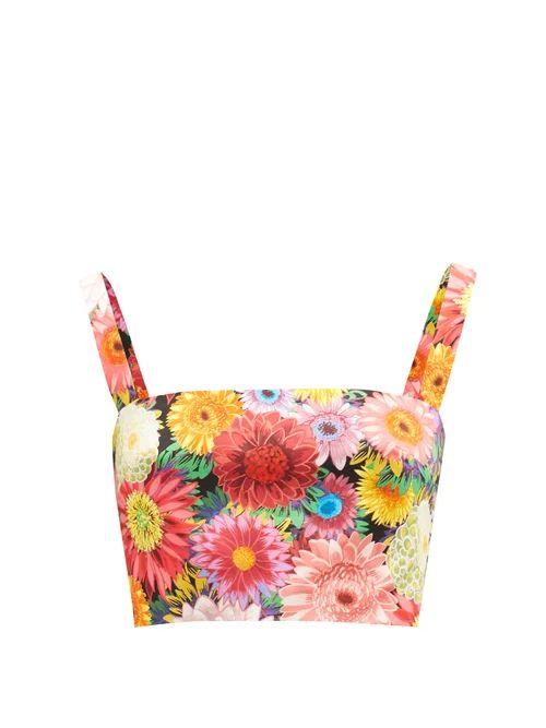 The Row - Sling Leather Trimmed Nylon Cross Body Bag - Womens - Black