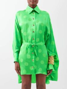 The Row - Sling Leather Trimmed Nylon Cross Body Bag - Womens - Black