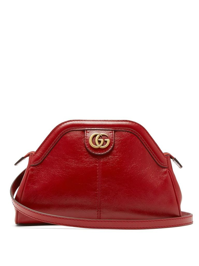Gucci - Re(belle) Leather Cross Body Bag - Womens - Red
