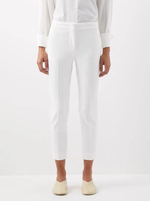 Jw Anderson - Bike Leather Saddle Cross Body Bag - Womens - Tan