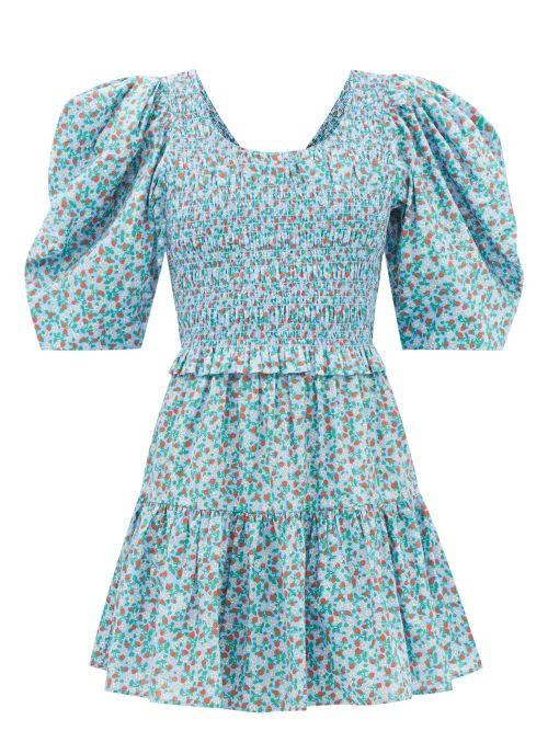 Mark Cross - Laura Leather Shoulder Bag - Womens - Black Tan