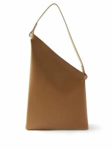 Staud - Moreau Macramé And Leather Bucket Bag - Womens - Brown