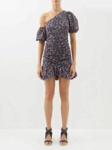 Nili Lotan - Topher Belted Cotton Gabardine Trench Coat - Womens - Tan