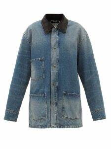 Raey - Displaced Sleeve Round Neck Wool Sweater - Womens - Grey