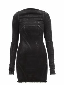 Chloé - Geometric Print Silk Crepe De Chine Blouse - Womens - Yellow Print