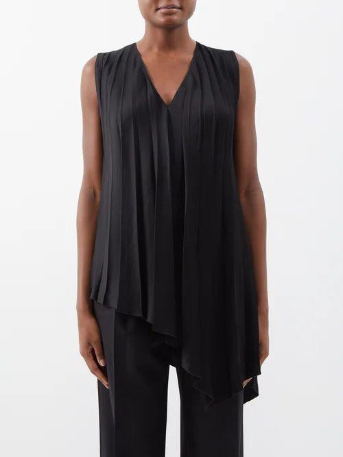 Prada - Lightweight Nylon Hooded Jacket - Womens - Black Multi