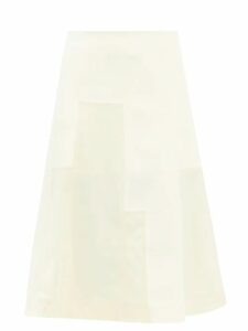 Erdem - Devon Single Breasted Check Wool Blazer - Womens - Blue Multi