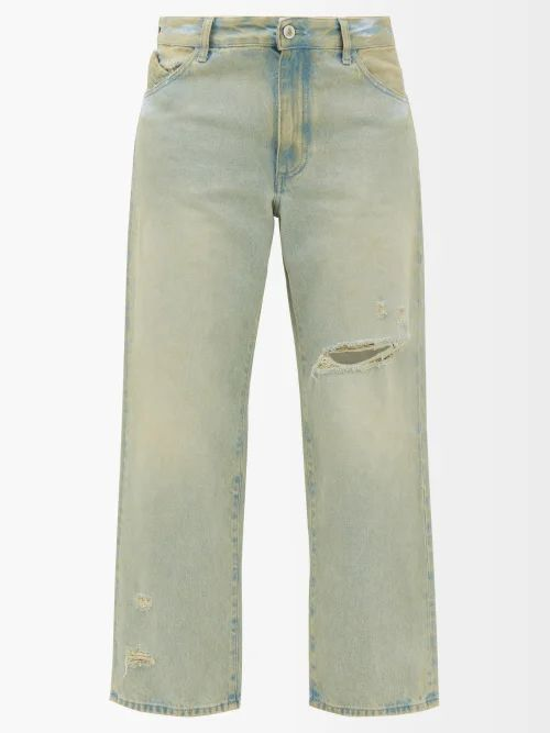 Chloé - V Neck Silk Blend Crepe Dress - Womens - Brown