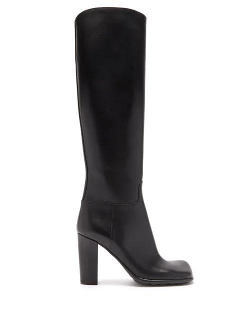 Preen By Thornton Bregazzi - Jayma Floral Devoré Silk Blend Dress - Womens - Green Multi