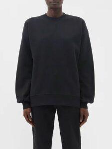 Rochas - Tiered Velvet Devoré Midi Dress - Womens - Black Multi