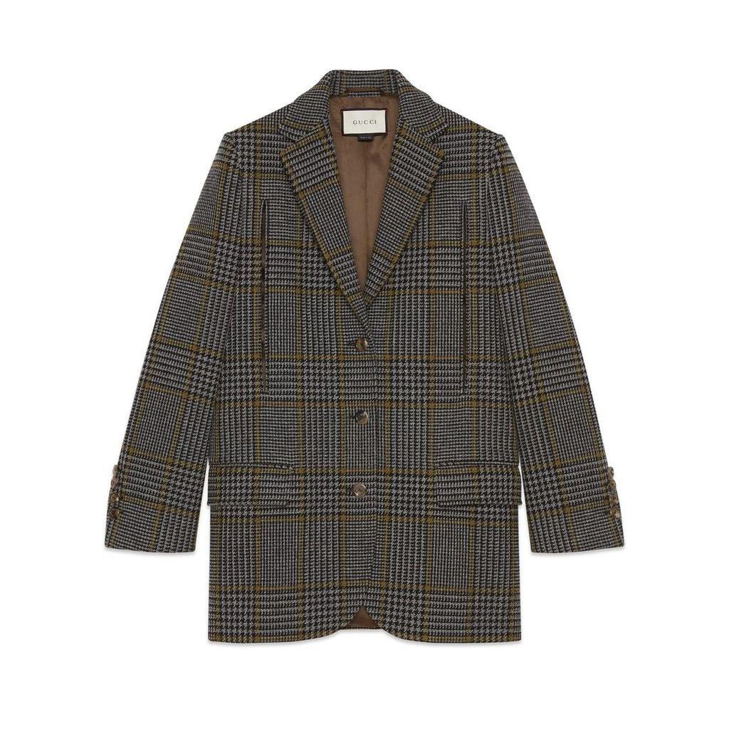 Prince of Wales cape jacket