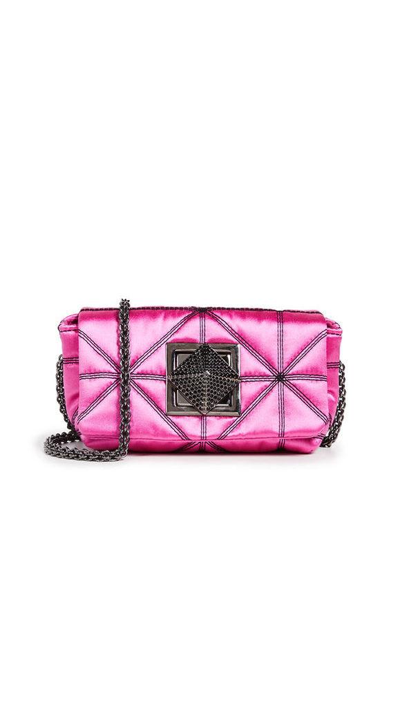 Sonia Rykiel Satin Shoulder Bag