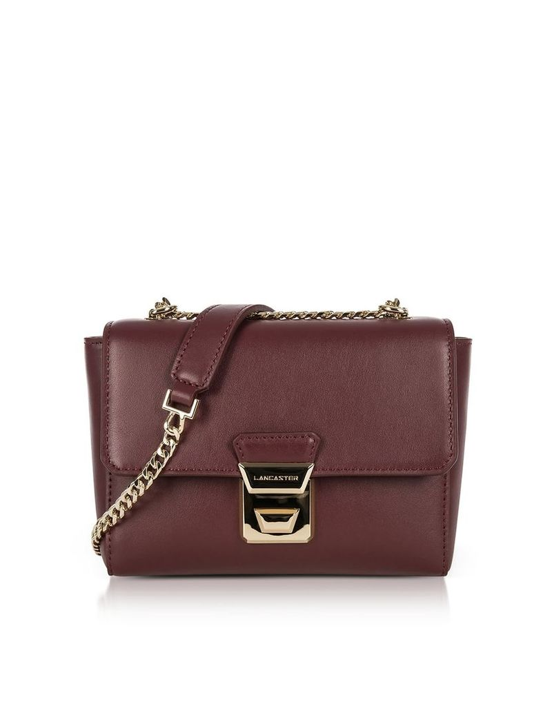 Lancaster Paris Gena Or Leather Small Crossbody Bag