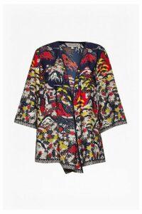 Geisha Waterfall Kimono Jacket